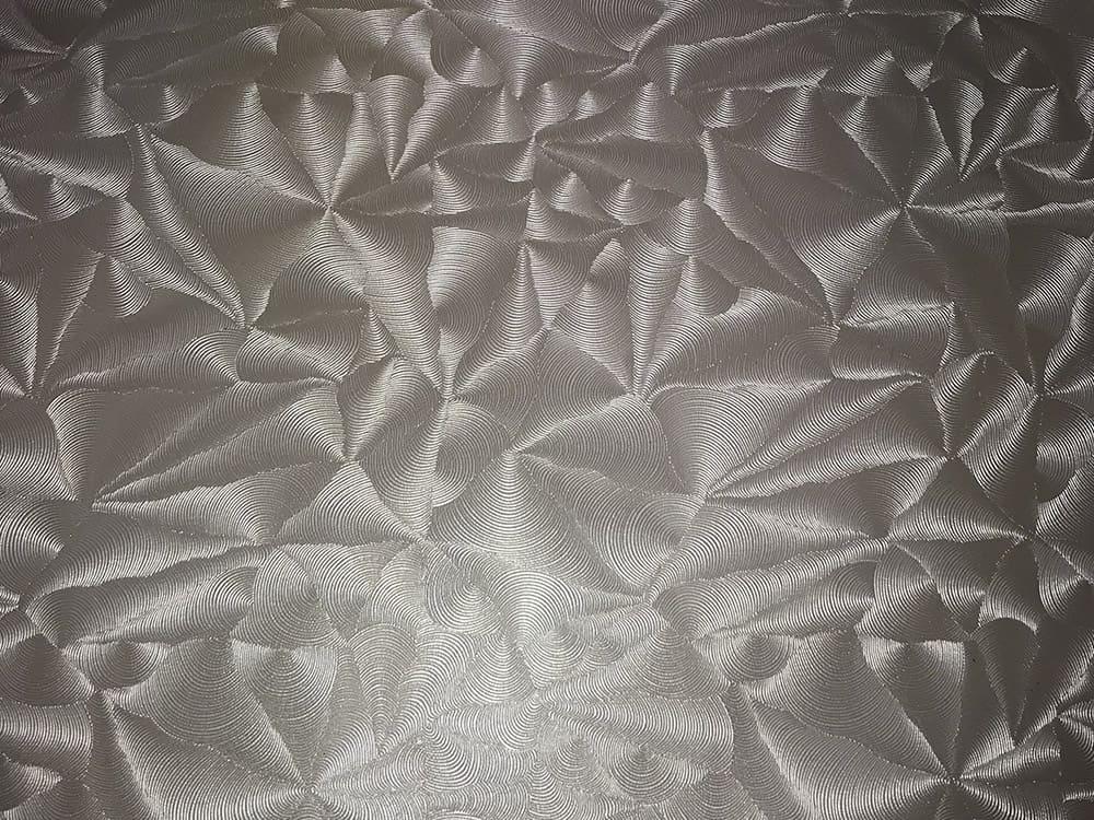 Парча перламутр - ткань для фактурных натяжных потолков