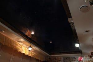 Двухуровневый потолок Звездное небо- галерея работ Строй Комфорт