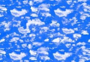 Фотопечать на натяжном потолке Облака и небо