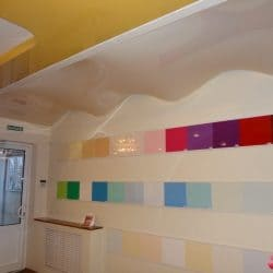 Двухуровневый потолок - галерея работ Строй Комфорт