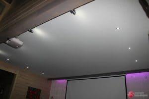 Белый матовый натяжной потолок - галерея работ Строй Комфорт