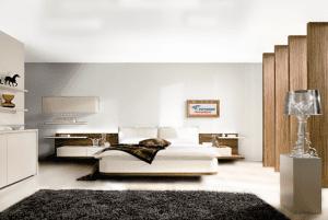 Белый - цвет сатинового натяжного потолка в интерьере