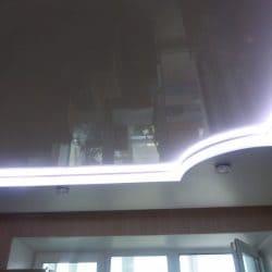 Натяжной потолок с контурной подсветкой - галерея Строй Комфорт