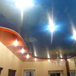 Многоуровневый натяжной потолок - Строй Комфорт