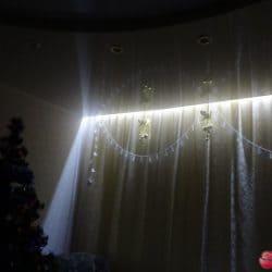 Контурная подсветка натяжного потолка - галерея Строй Комфорт