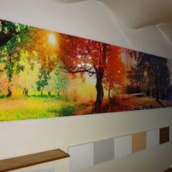 Натяжной потолок с волнами - галерея Строй Комфорт
