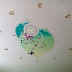 Матовый потолок с фотопечатью - галерея Строй Комфорт