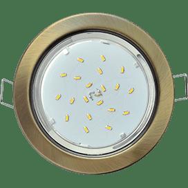 Лампа для натяжного потолка GX53 бронза