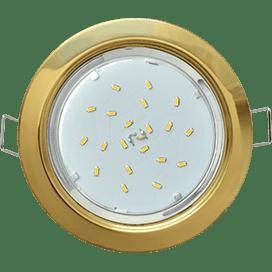 Лампа для натяжного потолка GX53 золото