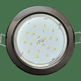 Лампа для натяжного потолка GX53 темный хром