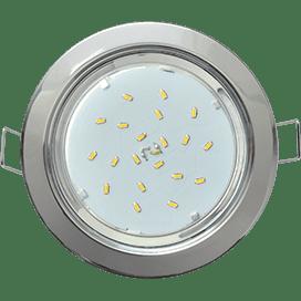 Лампа для натяжного потолка GX53 хром
