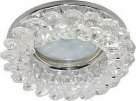 Лампа для натяжного потолка MR16 прозрачный хрусталь