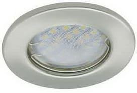 Лампа для натяжного потолка MR16 сатин хром